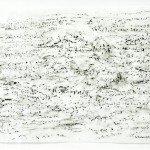 Dierker 18-Baumpartituren-Opus-Blautanne,-Frottage-auf-Wenzhou-Papier