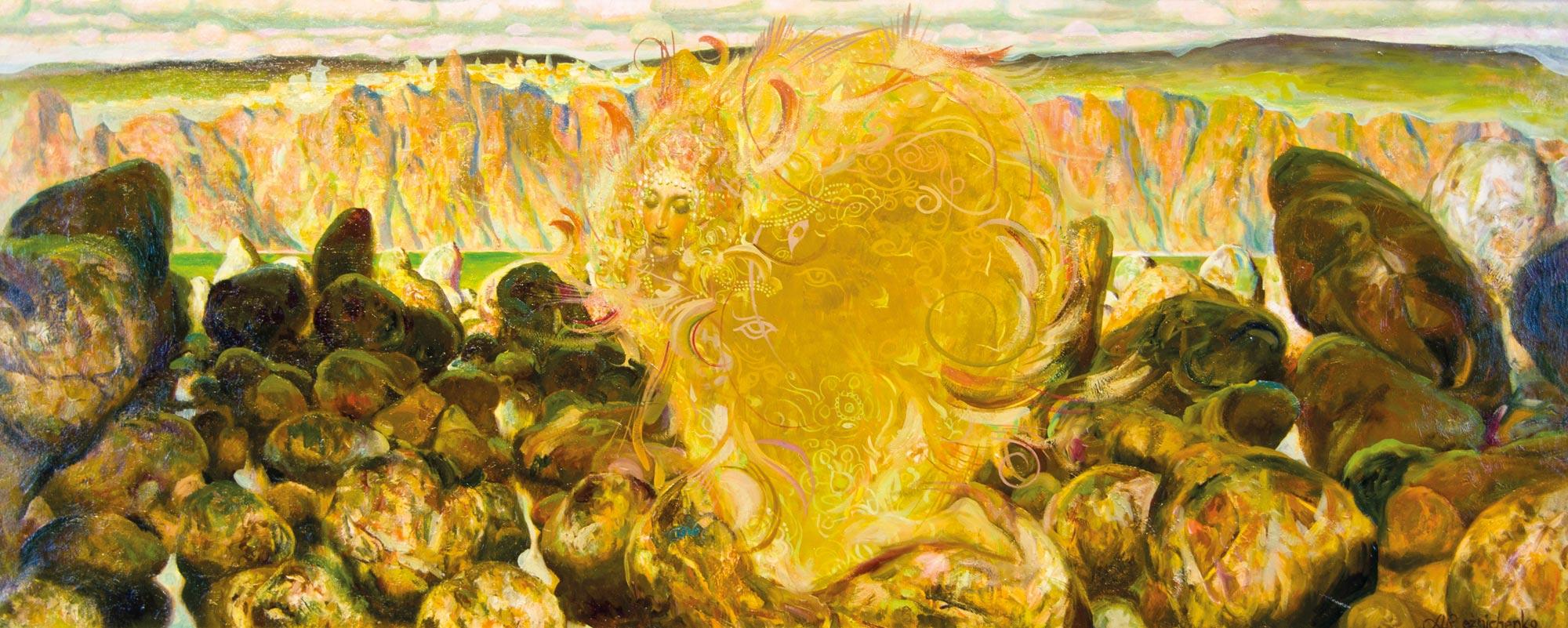 21.-Reznichenko-Aleksandr-(1968)---Schwanenprinzessin------1995----50-x-120-cm----Öl-auf-Lwd_bearbeitet