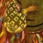30.-Reznichenko-Aleksandr-(1968)---Junge-Frau-mit-Mandoline---1999-----40-x-110-cm-----Öl-auf-Lwd_bearbeitet