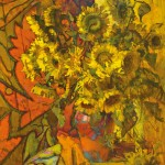 46.-Reznichenko-Alexander-(1968-)--Sunflowers----2015-----115-x-130-cm-----45-x-51-inch------Oil-on-Canvas_IGP2980
