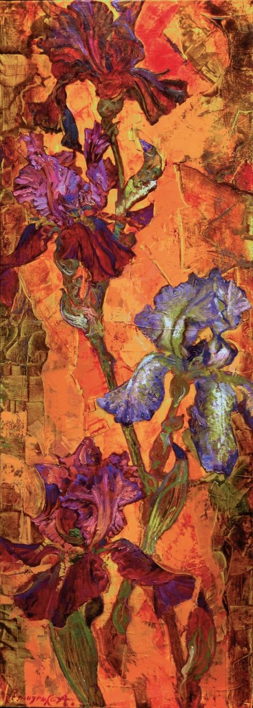 47.-Reznichenko-Aleksandr-(1968)--Abend---2008---45-x-126-cm----Öl-auf-Lwd