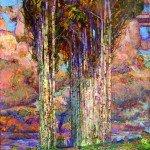 48. Reznichenko Aleksandr (1968) The bow of the soul 2016 115 x 125 cm 45 x 49 inch Oil on Canvas_IGP2990