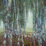 8.-Reznichenko-Alexander-(-1968-)----A-Mist-and-a-Birch----2002--110-x-110-cm---43-x-43-inch---Oil-on-Canvas_IGP3016
