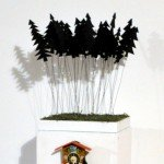 11--a-walk-in-the-black-forest---Installation,-150x25x25-cm