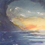 Kotzebue-Aquarell-OstseeVorSt