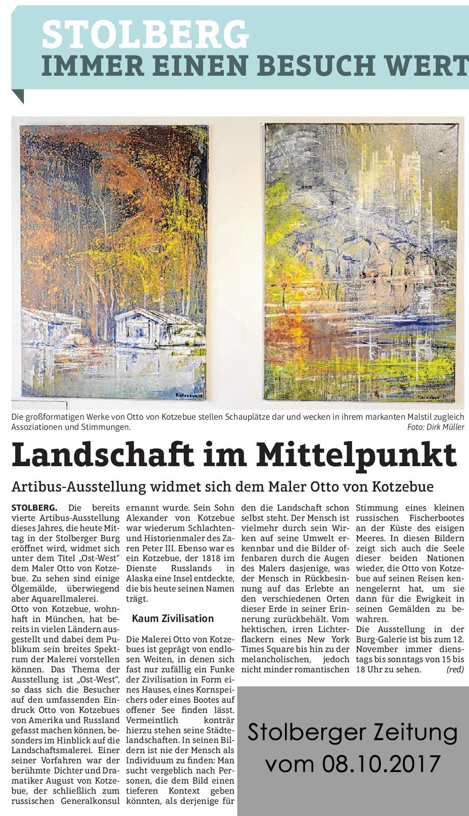 Stolberger-Zeitung-Otto-von-Kotzebue-08.10.2017